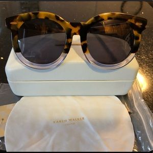 Karen Walker Super Duper Thistle Sunglasses NWT